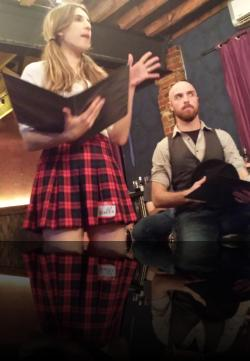 A serious play with adult themes. (Angela Pirko, Scott Campbell) <em>Measure for Measure</em>