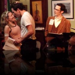 This should weird Leonato out, but nah. (Emily Sucher, Brendan Edward Kennedy, James Flanagan) <em>Much Abrew About Nothing</em>. Photo by:&nbsp;Shakespeare in the Pub