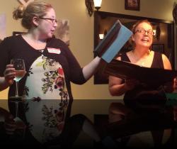 The REAL Housewives. (Ty Hallmark, Stephanie Svec) <em>The Real Housewives of Windsor</em>